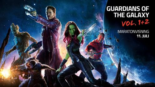Guardians of the galaxy maraton